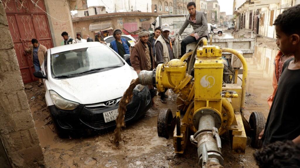 Overstromingen in Sanaa