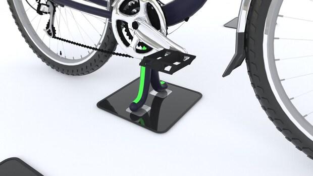 Nederlandse stoeptegel kan e-bikes draadloos opladen