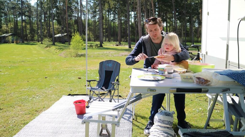Kris met dochter Luna