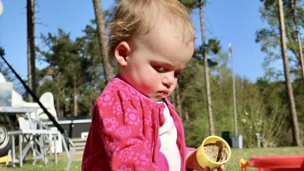 Dochter Evi (1 jaar)