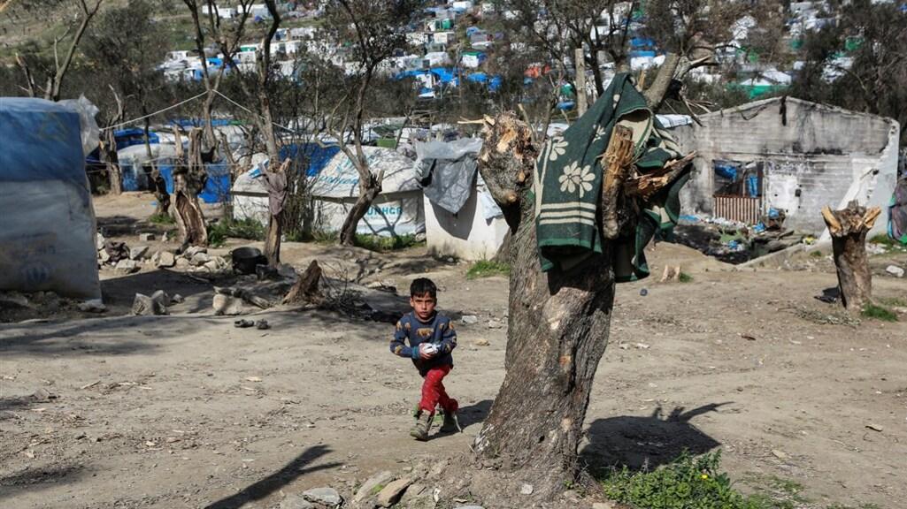 Vluchtelingenkamp Moira op Lesbos barst uit zijn voegen.