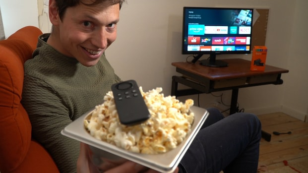 Review Amazon Fire TV: brand je vingers er niet aan