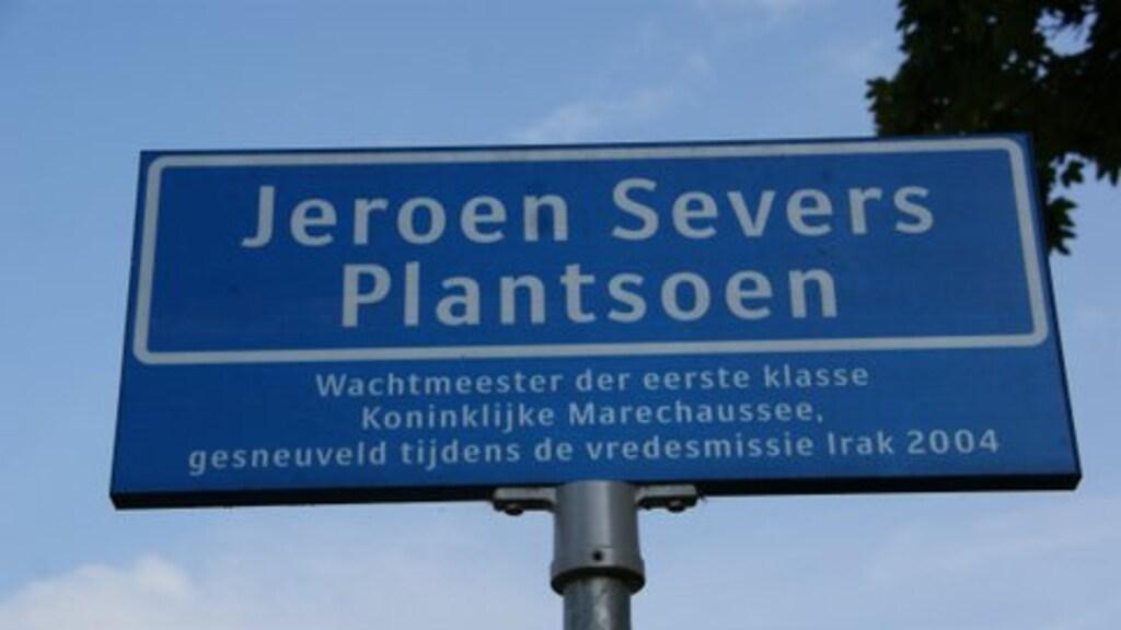 Eerder werd er al een plantsoen naar Greets zoon vernoemd.