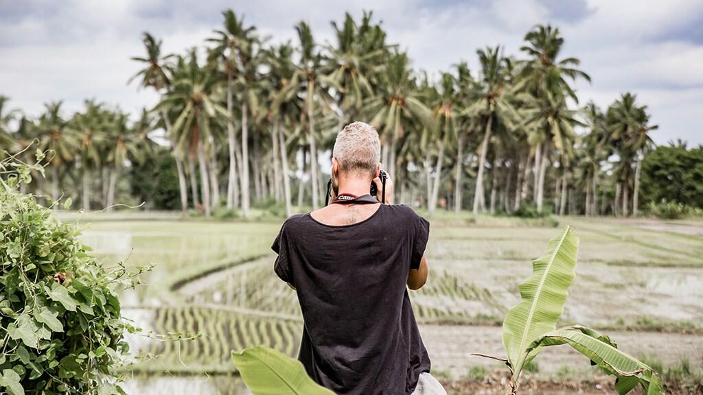 Met Mark, een goede vriend van mij uit Nederland die ook op het eiland woont, ga ik vaak op reis over het eiland om foto's te maken. Een hobby die we samen delen.