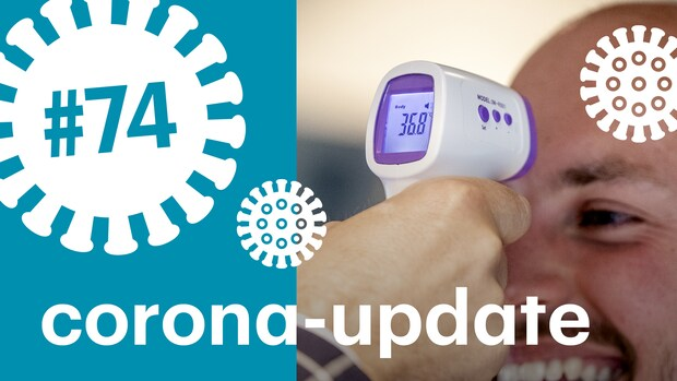 Temperatuurmeting bij de ingang tegen corona - maar wat als je net moest rennen?