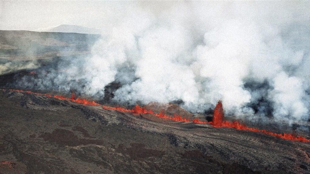 De laatste uitbarsting van de oude recordhouder Mauna Loa was in 1984.