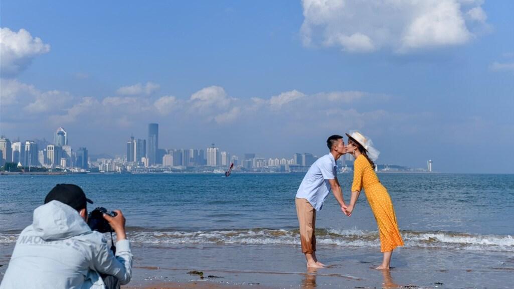 In de Chinese provincie Qingdao is er zelfs een speciaal trouw-seizoen
