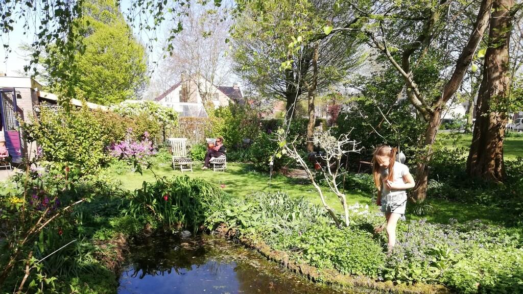 Een van de deelnemende tuinen