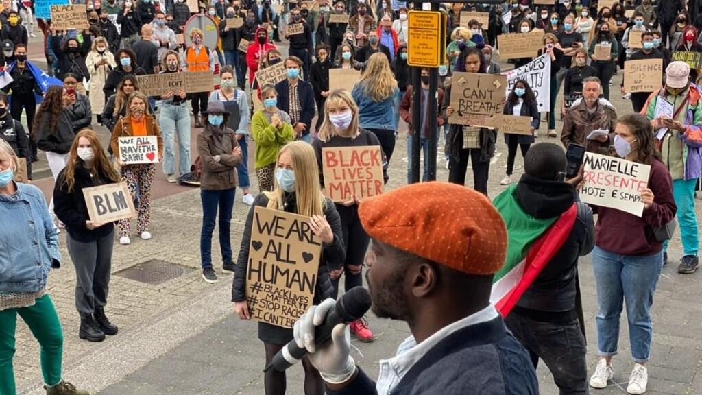 Antiracismebetoging in Tilburg