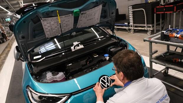 Volkswagen: verkoop elektrische auto's verdrievoudigd