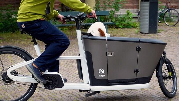 Getest: de nieuwe elektrische bakfiets Carqon