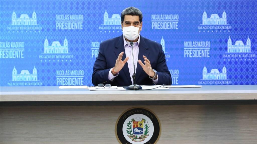 President Maduro claimt het goud te gebruiken om het coronavirus te bestrijden.