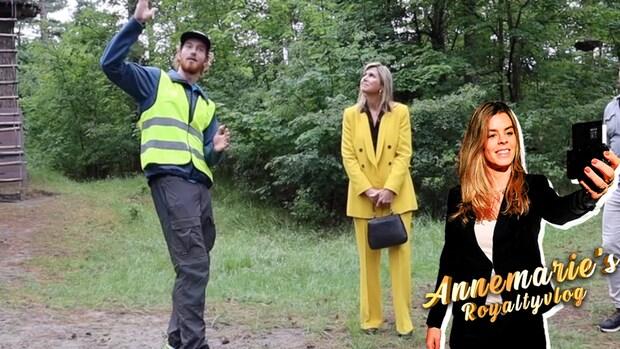 Annemarie's Royaltyvlog: Máxima hangt de toerist uit in Zeeland