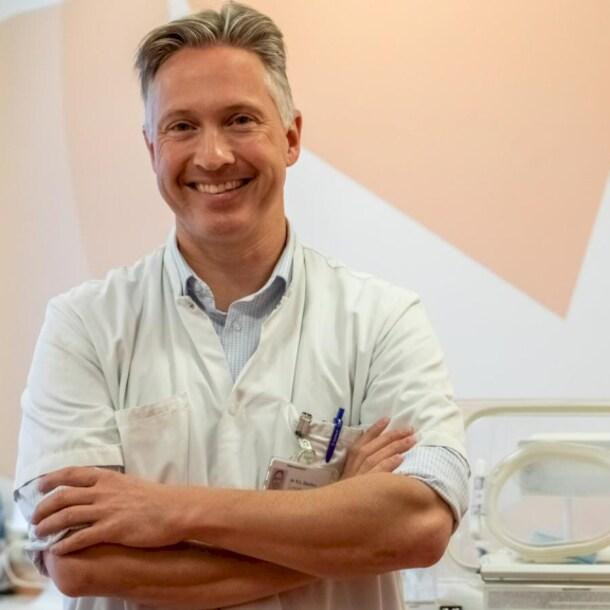 Gynaecoloog Koen Deurloo van het Diakonessenziekenhuis.