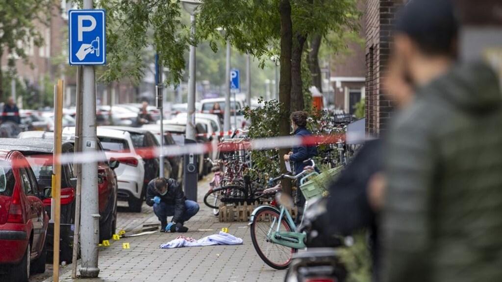 Dinsdagmiddag was er ook al een schietpartij in de Vechtstraat.