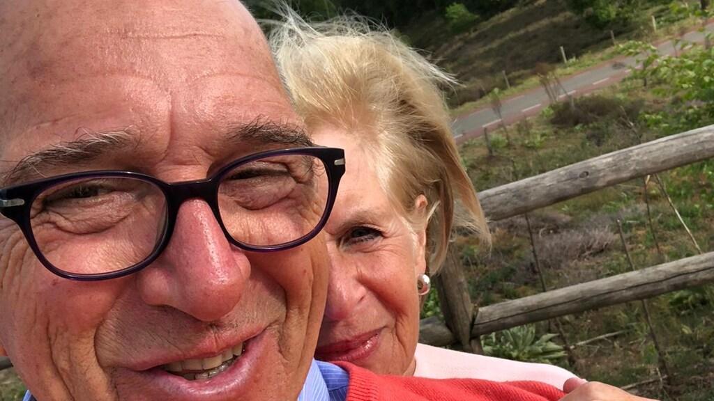 Mario en Annemieke samen in Nederland