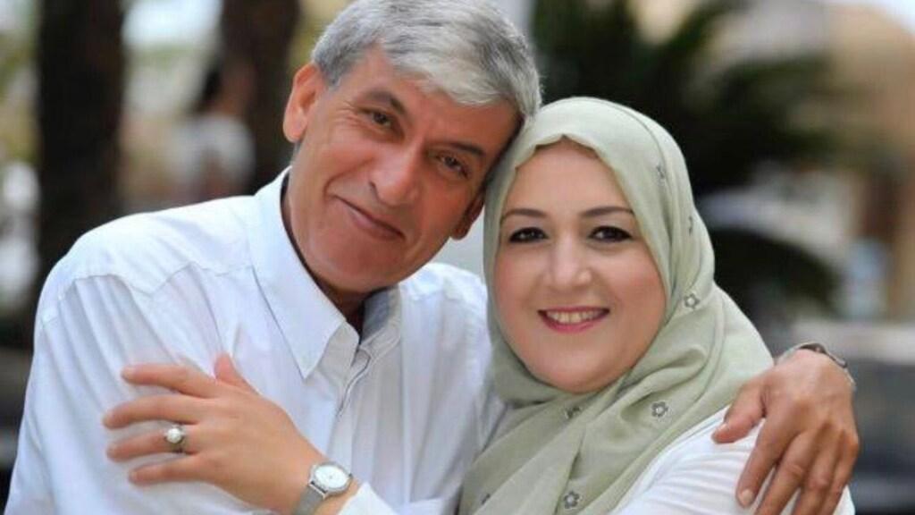 Ahmed, samen met zijn vrouw.
