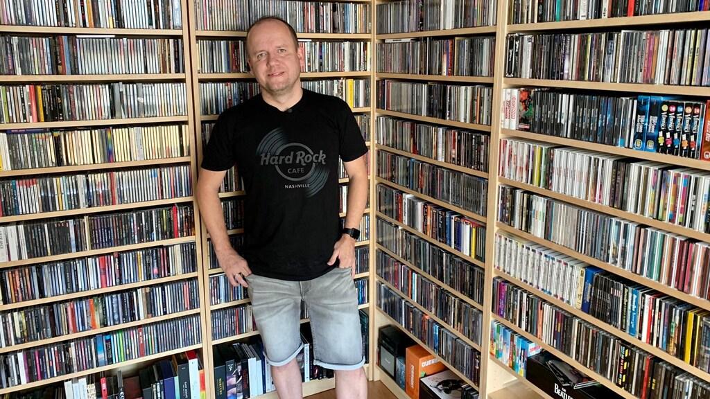 Rob heeft duizenden cd's