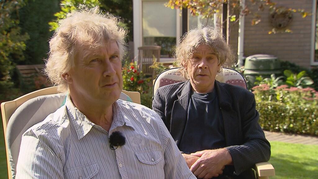 """Jeroen en Hans Snaterse: """"Onze broer Wicher was nooit ziek."""""""