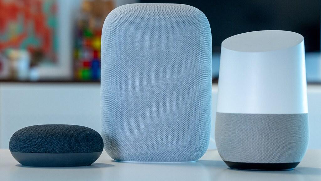 vlnr: Google Home Mini, Nest Audio, Google Home