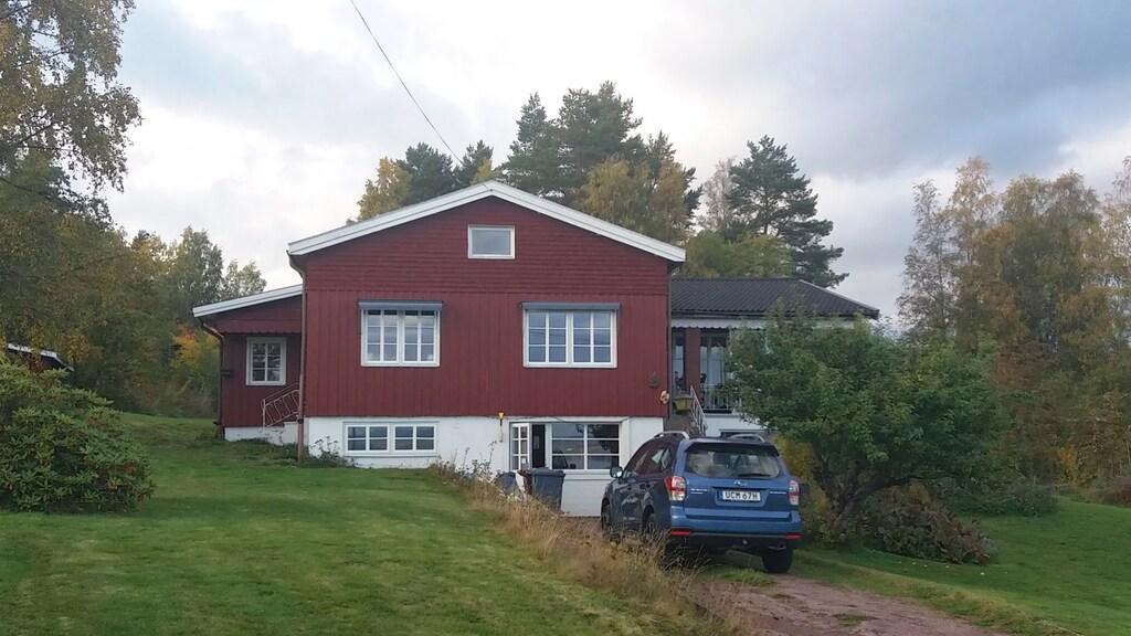 Het huis van Eline en haar gezin.