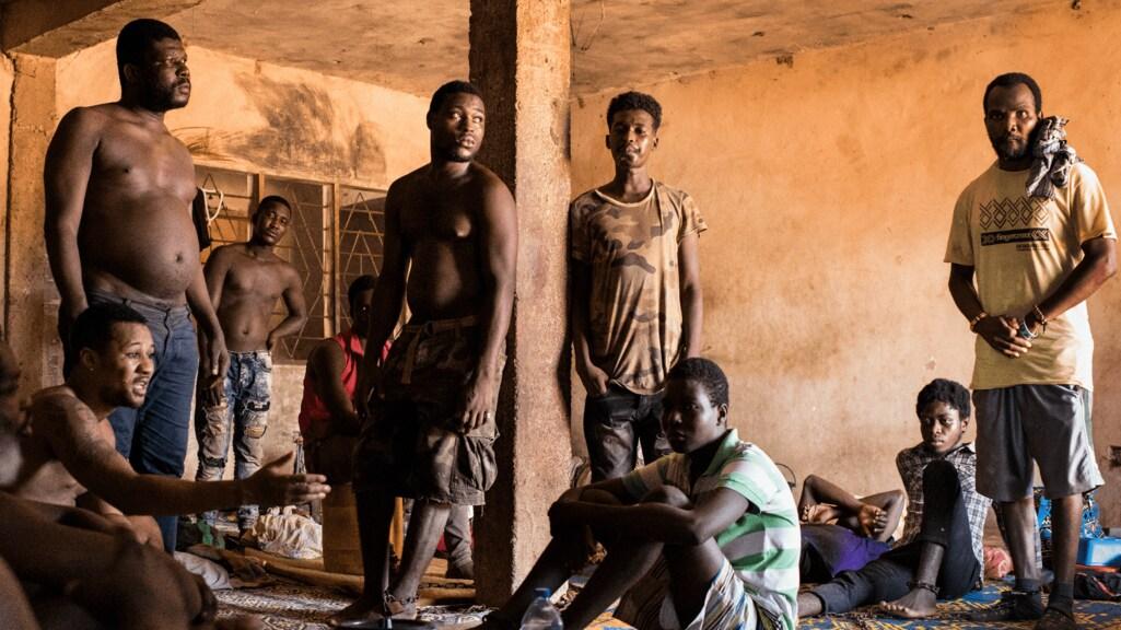 Een van de Ghanese centra waar mensen met mentale problemen 'geheeld' worden.
