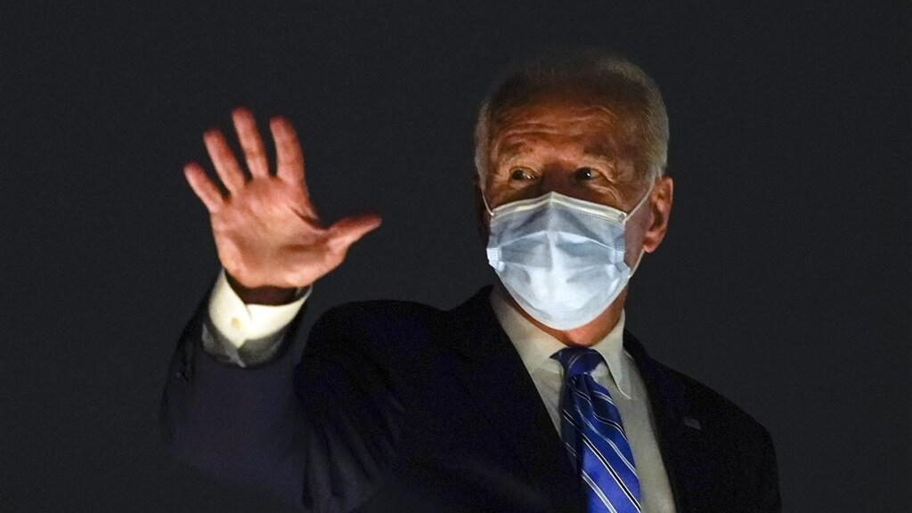Uitdager Joe Biden heeft 'moeite om te agenderen.'