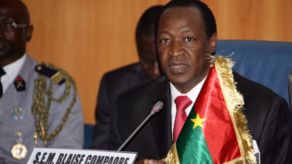 President Compaoré had het jarenlang meezitten.