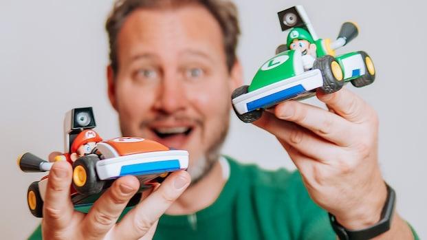 Getest: met deze nieuwe Mario Kart-game race je door je kamer