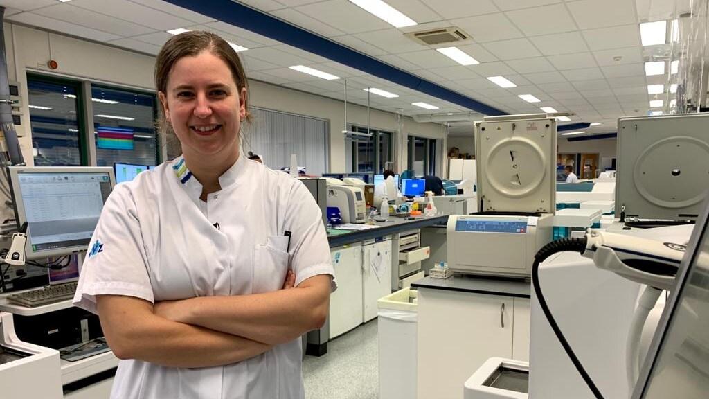 Arts-onderzoeker Jona Walk