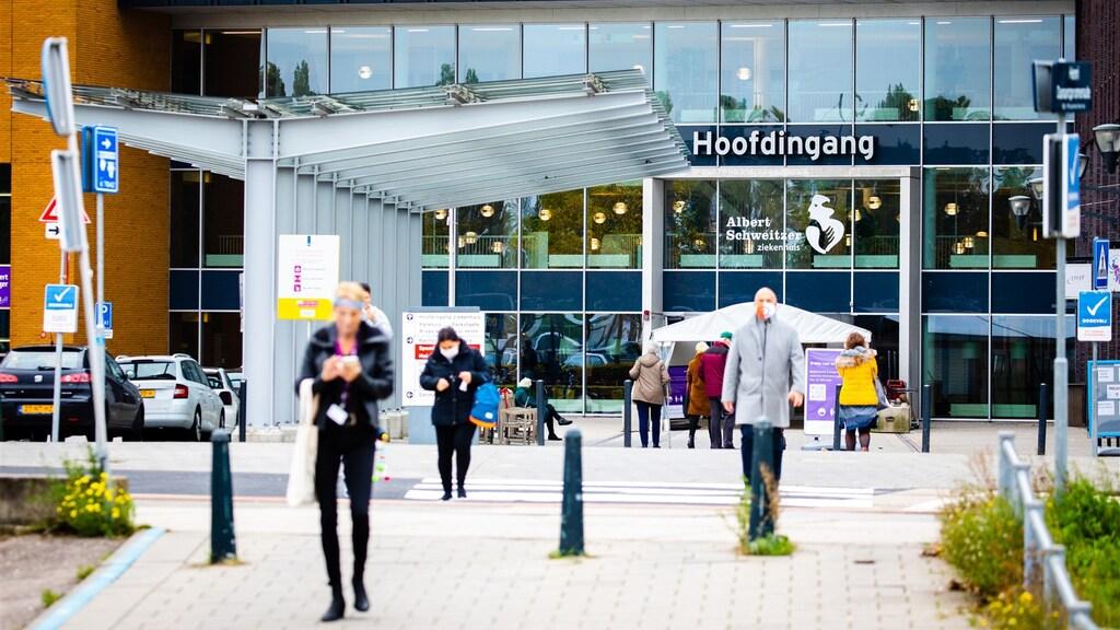De vestiging Dordrecht van het Albert Schweitzer-ziekenhuis.