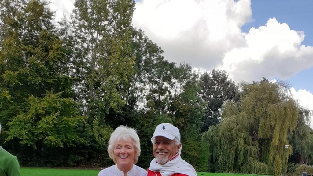 Herman, samen met zijn vrouw Nanny