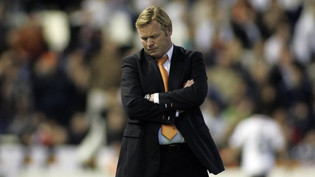 Koeman als trainer bij Valencia