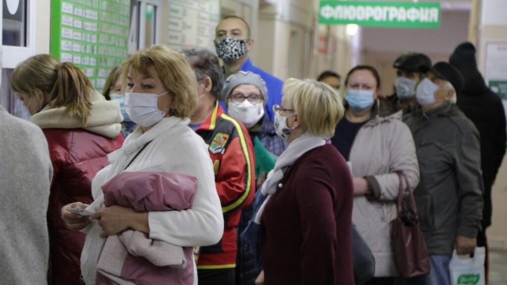 Russen moeten in provinciale ziekenhuizen vaak lang in de rij.