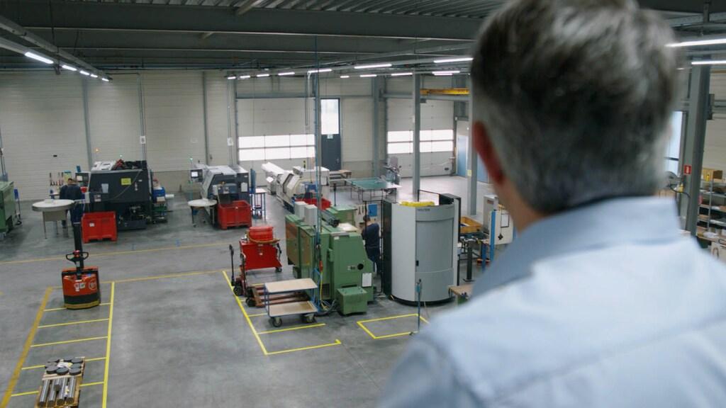 Het machinepark van Hofmans Verspaning