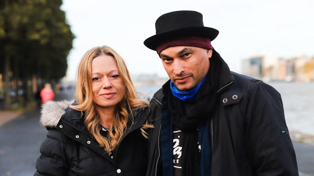 Moeder Justine en vader Kai over de dood van hun zoon Sammy. (Foto: Esther Maas)