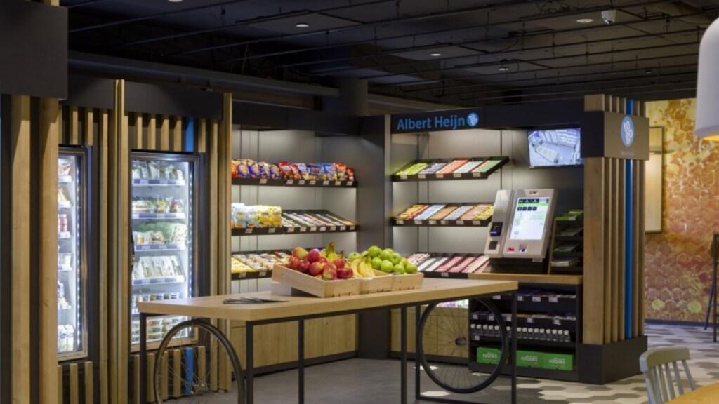 Zo ziet zo'n onbemande supermarkt eruit.