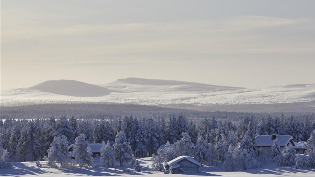 Dunbevolkt Finland: er zijn talloze gebieden zoals deze waar er nauwelijks mensen wonen.