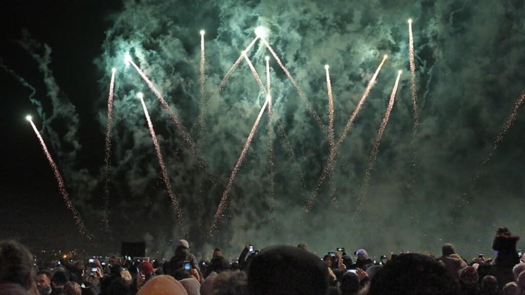 Een vuurwerkshow zoals deze in Antwerpen zal dit jaar niet doorgaan.