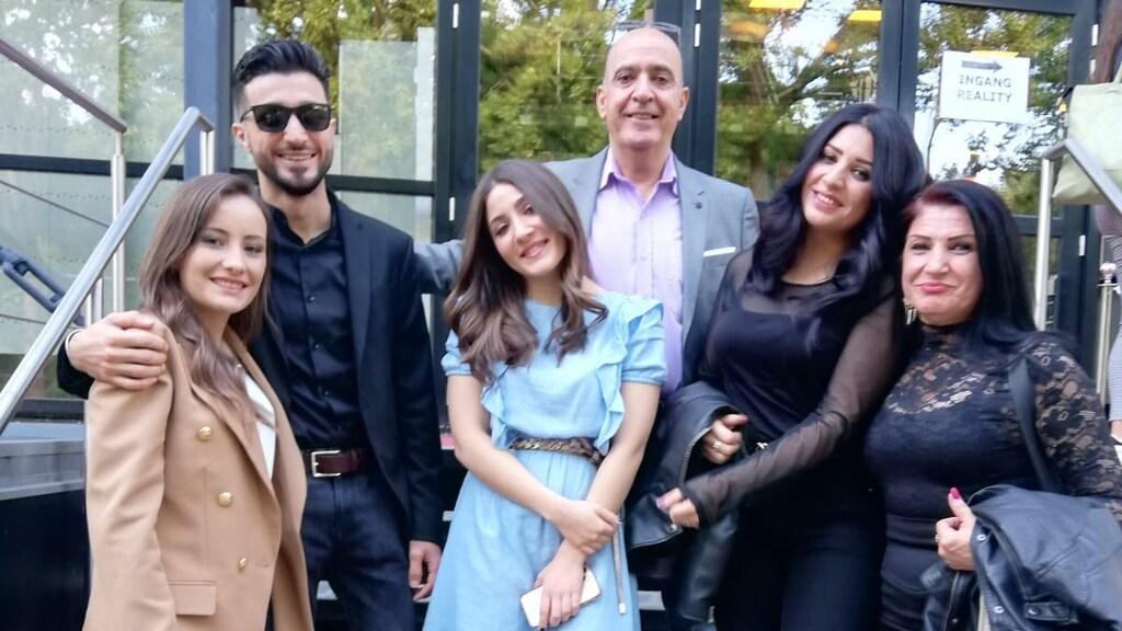 Het gezin Al Kadamani