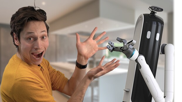 Verrassingen op techbeurs CES: huishoudrobot en nieuw soort telefoon