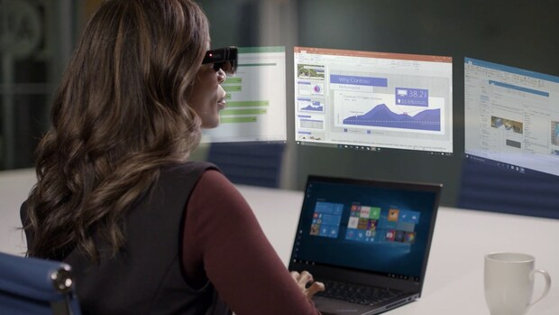 Nieuw voor thuiswerkers: videobril, vergaderscherm en robothulp