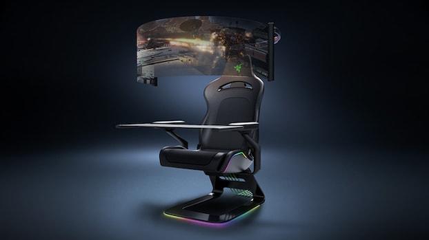 Nieuw voor gamers: krachtige laptops en futuristische gamestoel