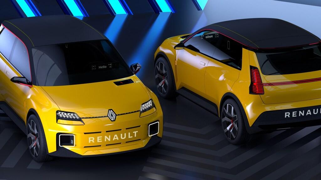 Prototype van de nieuwe Renault 5.