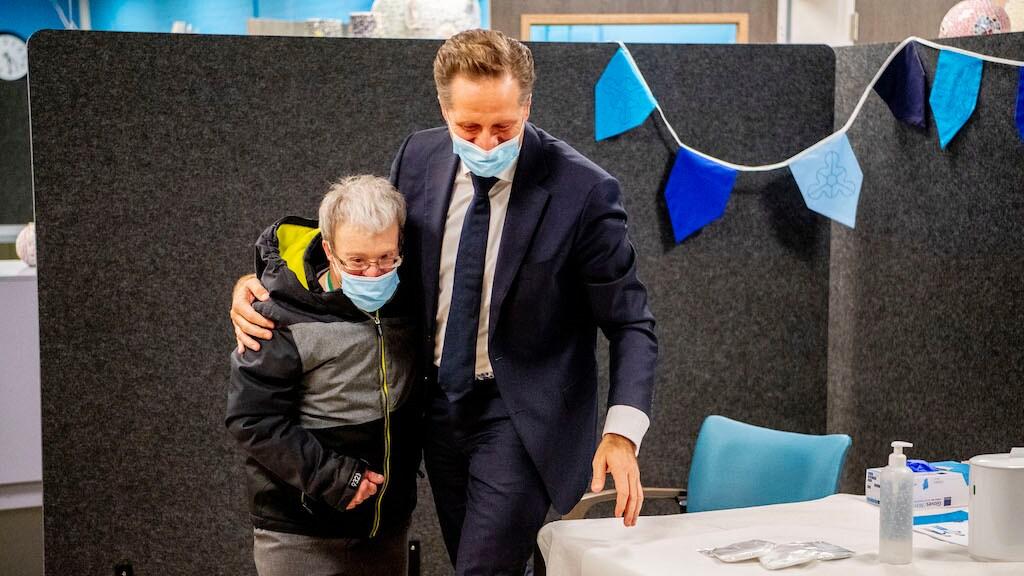 Minister De Jonge met Fred