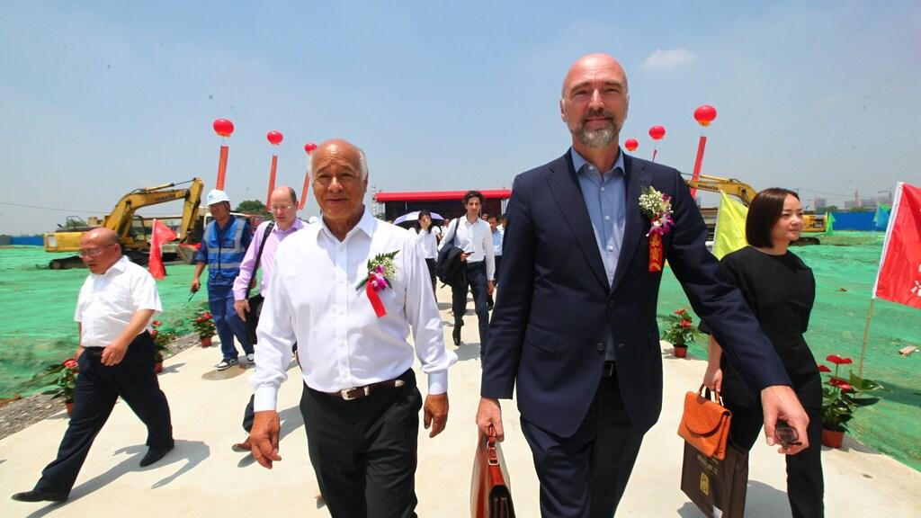 Remco is nu nog consul-generaal in Shanghai, komende zomer wordt hij ambassadeur in Thailand.