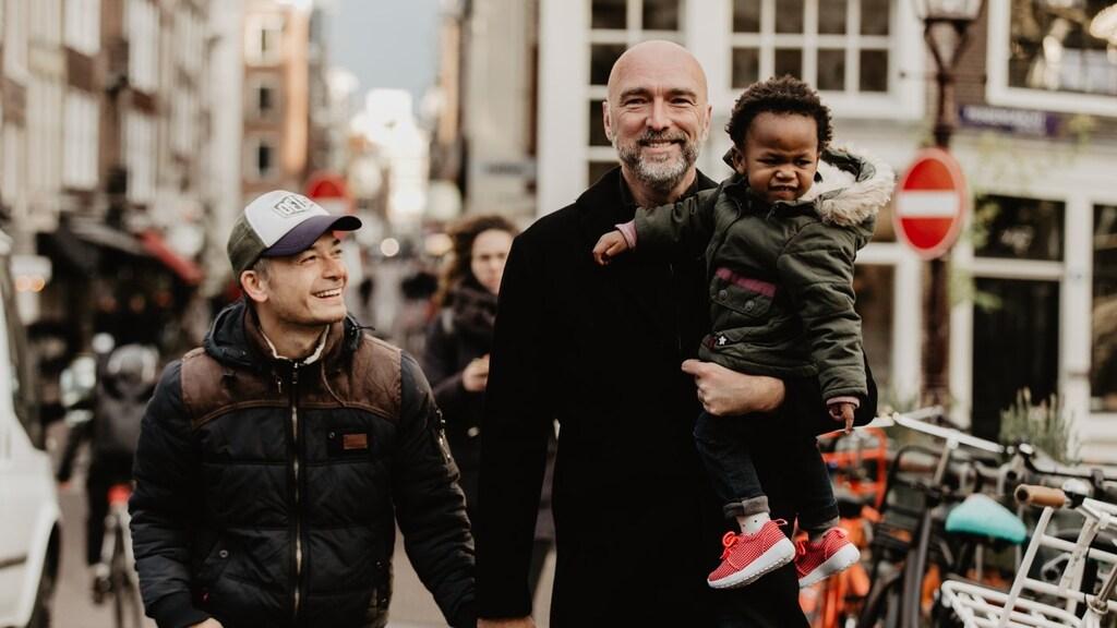 Met Carter en Ella in Amsterdam.