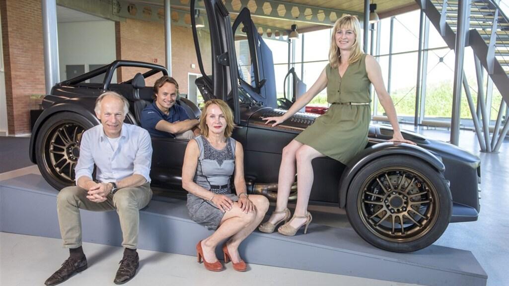 Familiebedrijf, met vrouw Marianne, zoon Denis en dochter Amber.