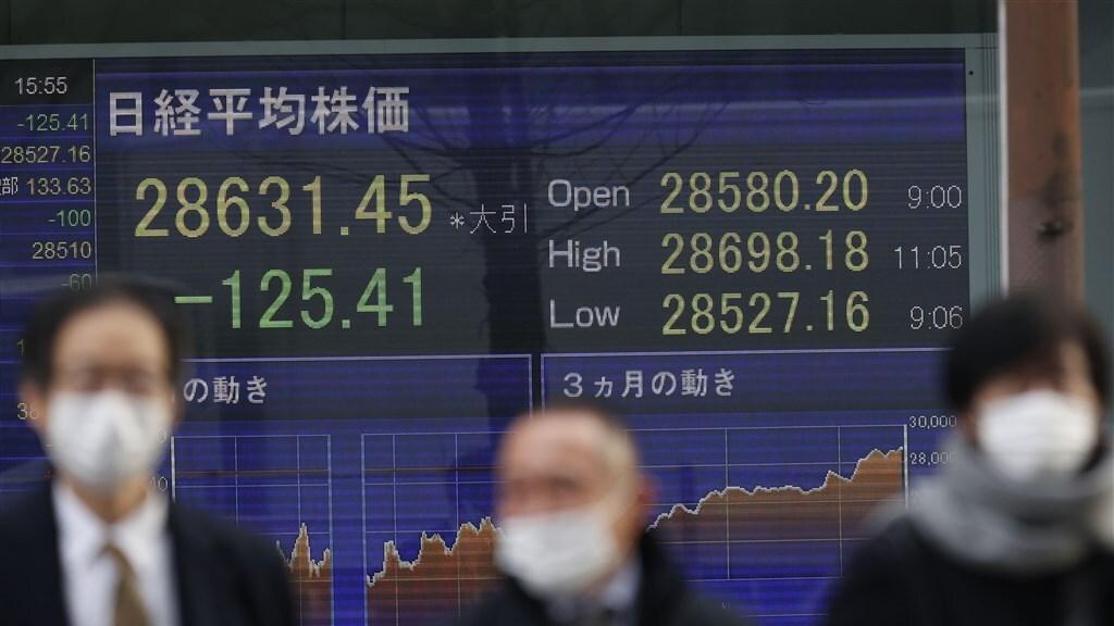 In de Japanse economie is de financiële dienstverlening steeds belangrijker.