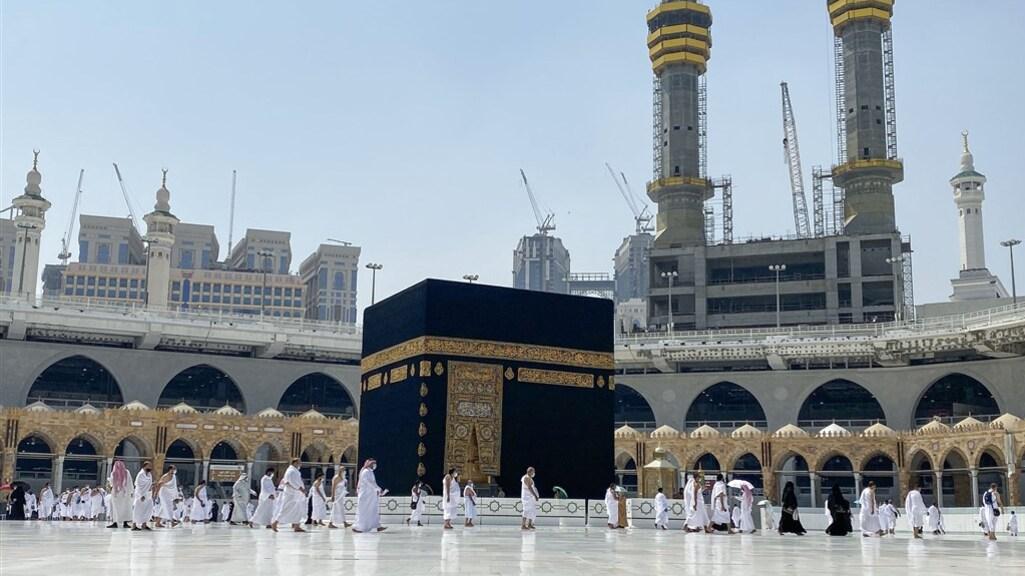 De Kaäba is een heilige plek voor moslims.